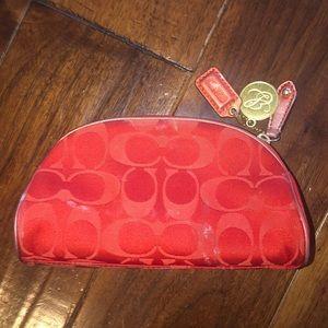 Coach Bags - Used Coach Limited Edition Red CC For Estée Lauder